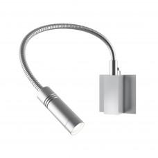 808619 (MB337-1) Светильник настенный MURO LED 3W 190LM хром 3000K (в комплекте)
