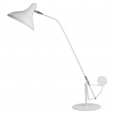 764906 (MТ14003041-1А) Настольная лампа MANTI 1х40W E14 White (в комплекте)
