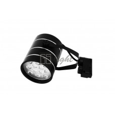 Светодиодный светильник SPOT для трека 12W ЧЁРНЫЙ Day White ECONOM