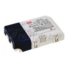 Блок питания LCM-25 (25W, 350-1050mA, 0-10V, PFC)